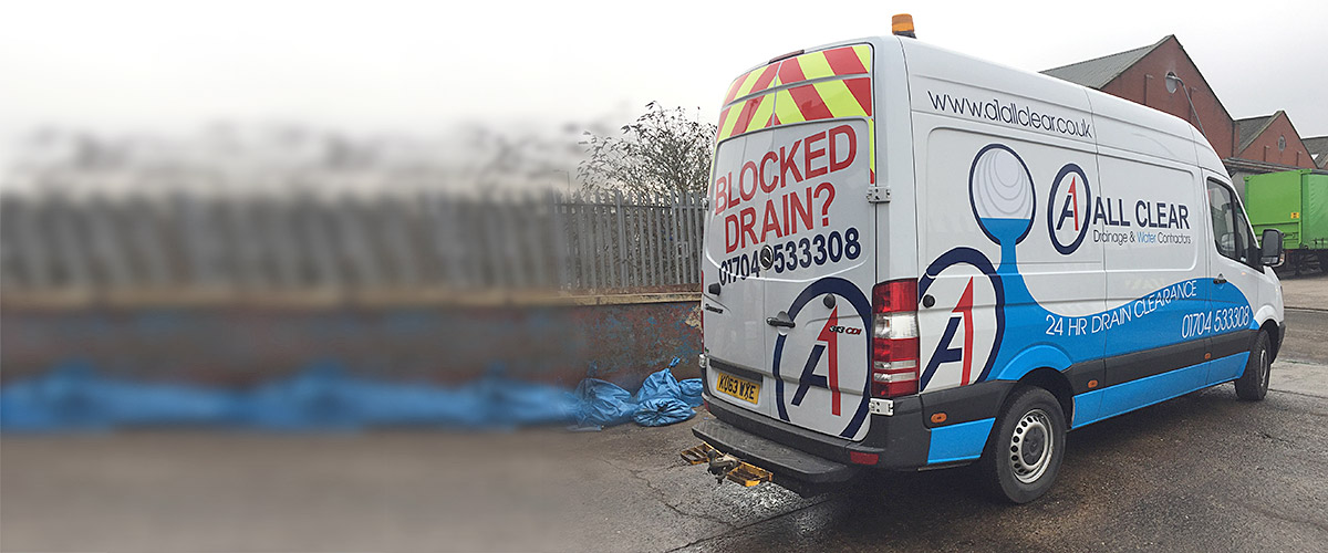 unblocking drain