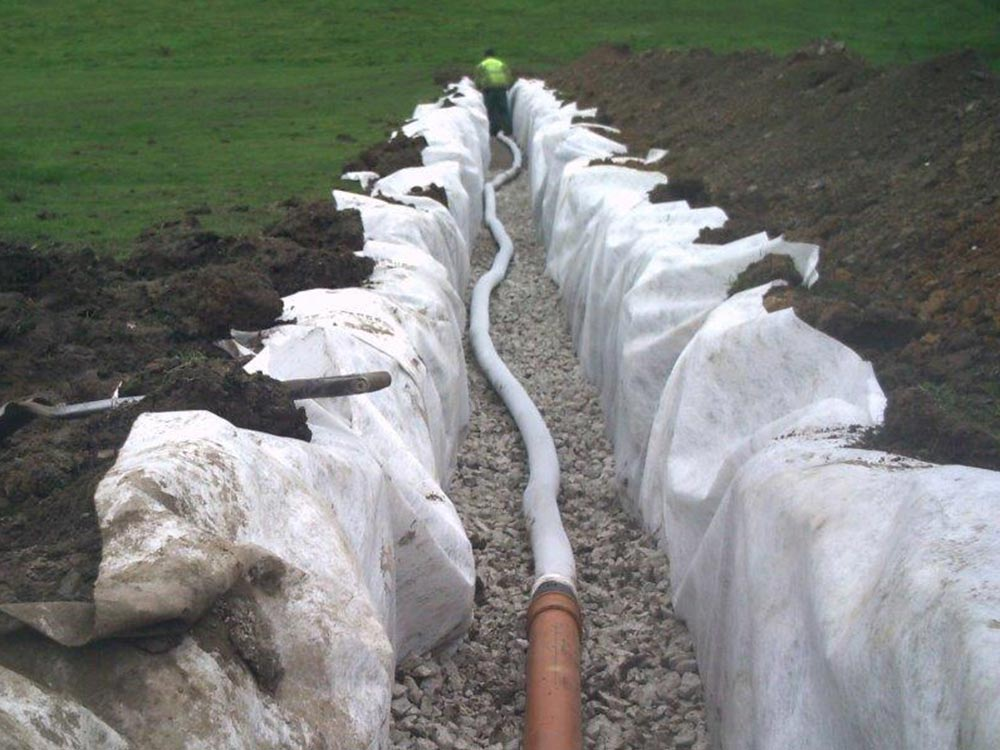 soak away drainage pipe