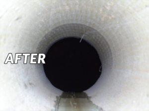 unblocking drain cctv