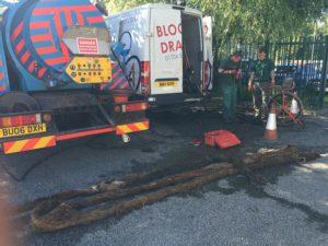unblocking drain root ingress